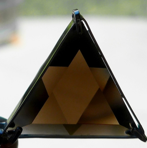 Smoky Quartz Star of David