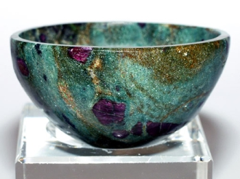 ruby zoisite bowl