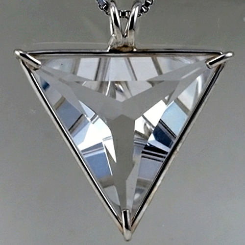 Water Clear Angelic Star Pendant