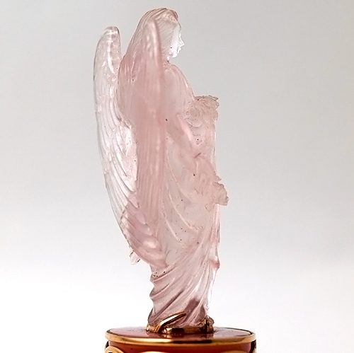 Rose Quartz Pink Tourmaline Angel of Blessings Altar