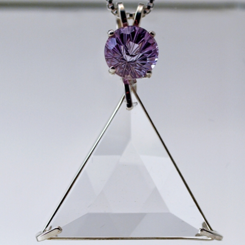 star of david with amethyst