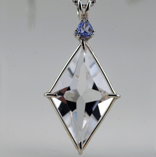 ascension star with tanzanite