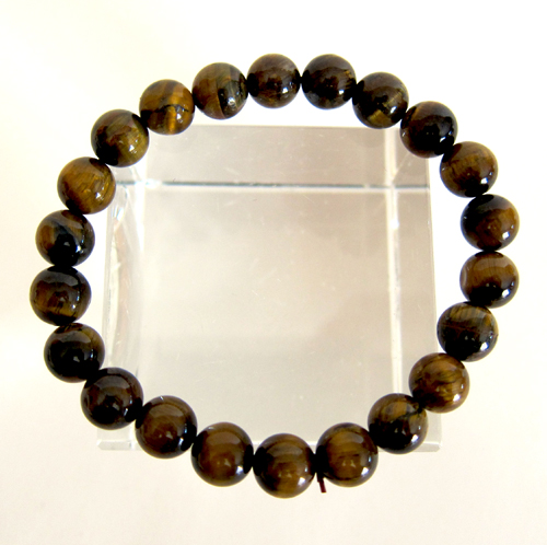 Tiger's Eye Power Bead Bracelet