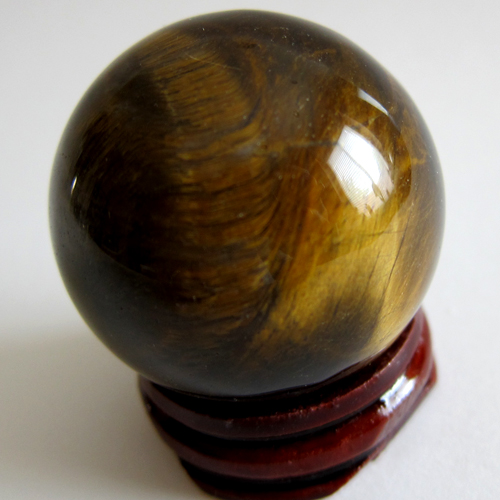 Tiger's Eye Small Sphere