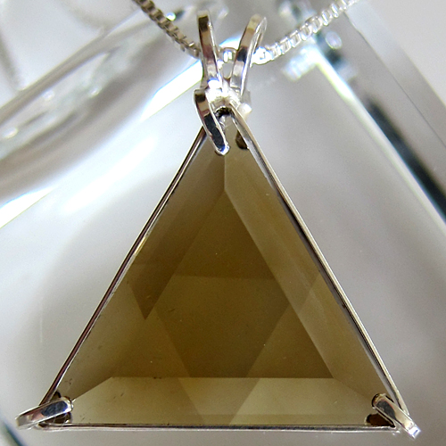 Deep Citrine Star of David Pendant