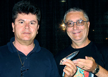 Ray Pinto & Curtis Lang Discuss Sacred Geometry at the 2007 Denver Gem & Mineral Show