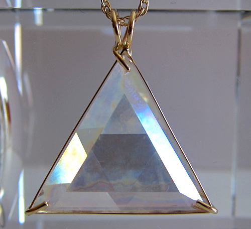 Angel Aura Star of David in gold