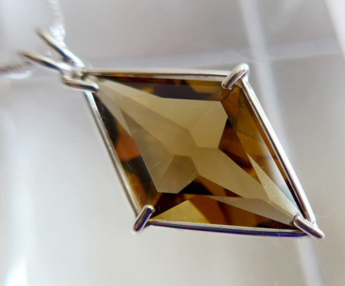 Citrine Ascension Star Pendant
