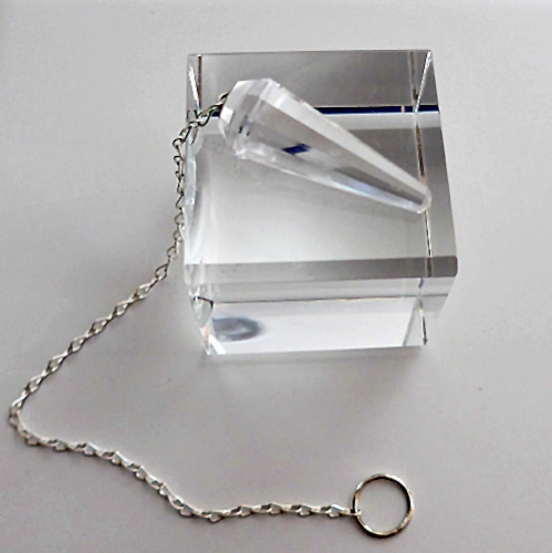 Clear Quartz Slim Pendulum
