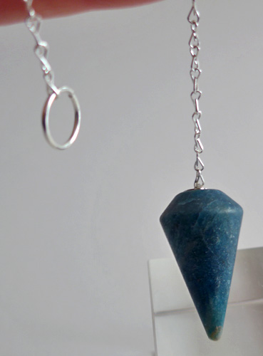 Royal Blue Apatite Cone Pendulum