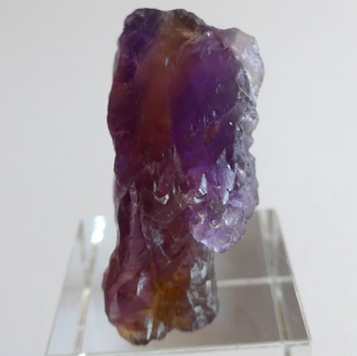 Rainbow Ametrine Naturally Terminated Specimen