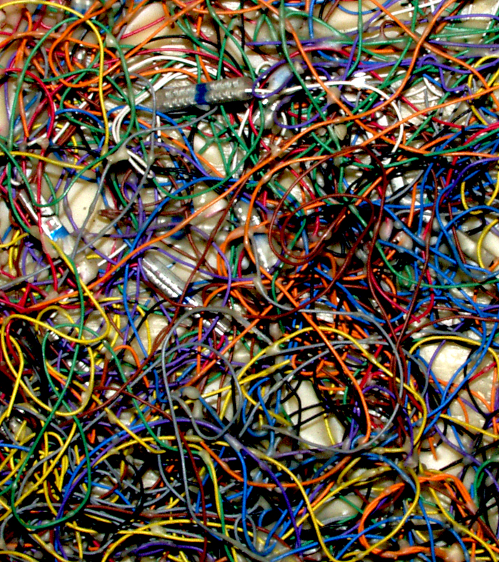 Tangled Cords, by Jane Sherry