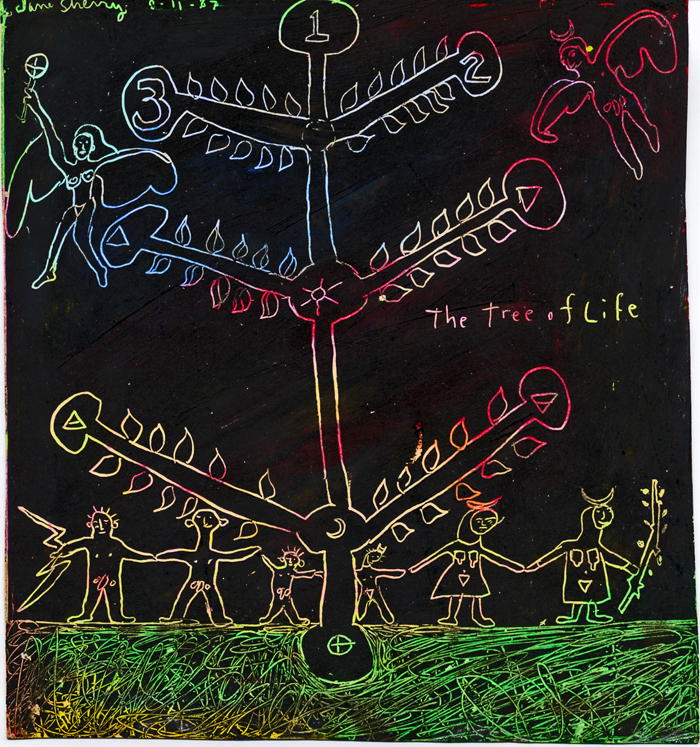 Tree of Life Tribe by Jane Sherry