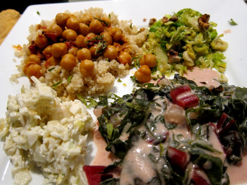 Thanksgiving Vegetarian Feast To Give Thanks