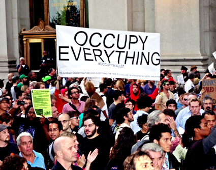 Occupy Wall Street Protest Courtesy of Wikimedia