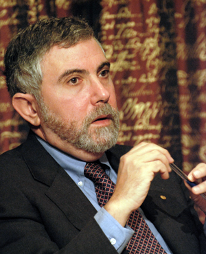 Paul Krugman, courtesy of Wikimedia Commons