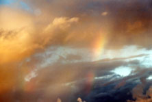 Rainbow Rain Clouds photo by Jane Sherry