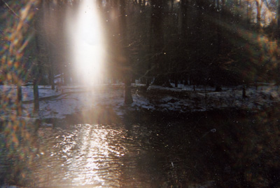 Streaming Light in Woodstock, photo by Jane Sherry
