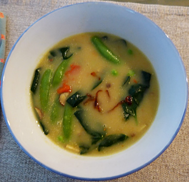 Springtime Soup by Jane Sherry