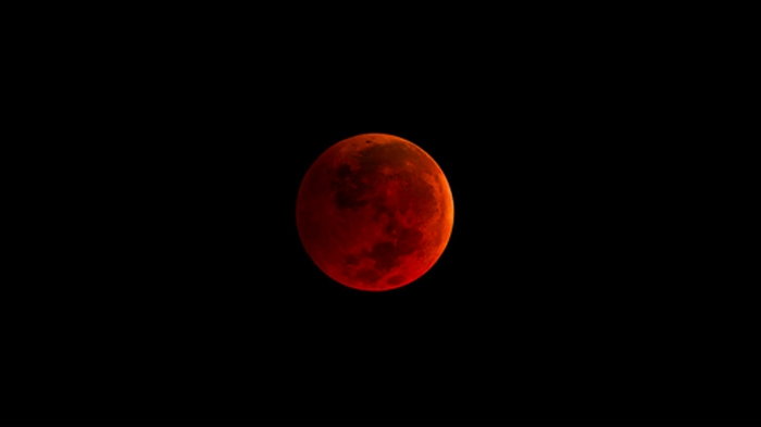 Super Blue Leo Blood Moon 2018