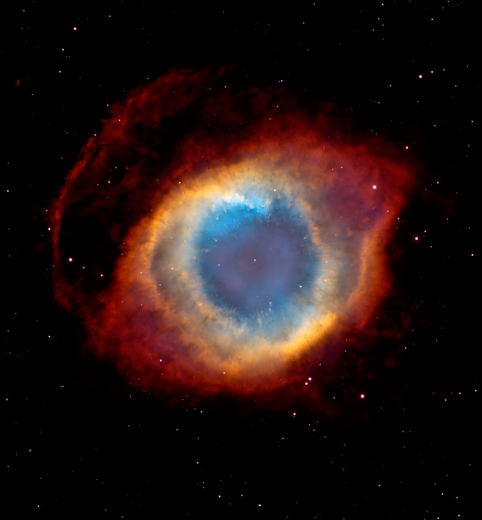 Helix Nebula photo by NASA