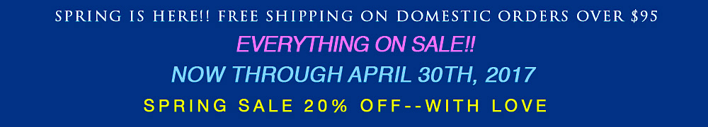 april spring free shipping sale banner homepage