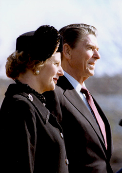 Reagan and Thatcher