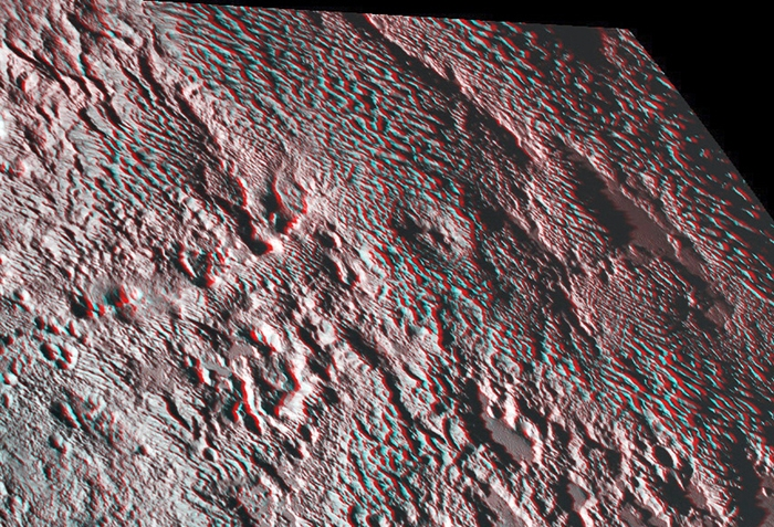 Surface of Pluto photo by NASA