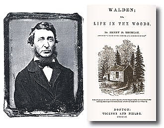 Henry David Thoreau -- Walden Pond
