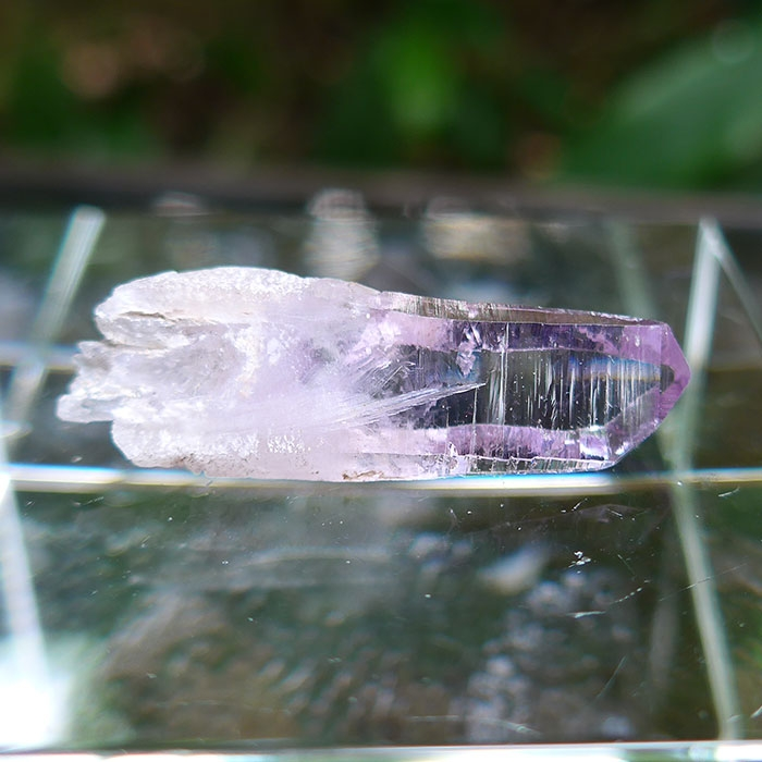 Violet Flame Vera Cruz Amethyst Point