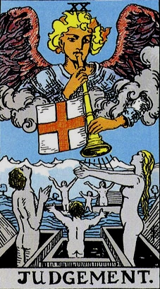 Tarot Trump #20, Judgement