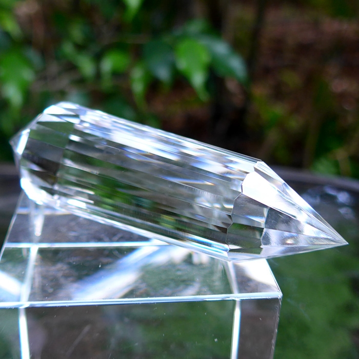 Lustrous 14 Sided Vogel Healing Crystal Wand