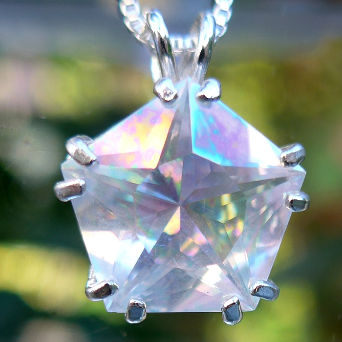 Angel Aura Star of Venus Pendant