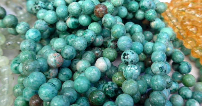 Amazonite Power Beads