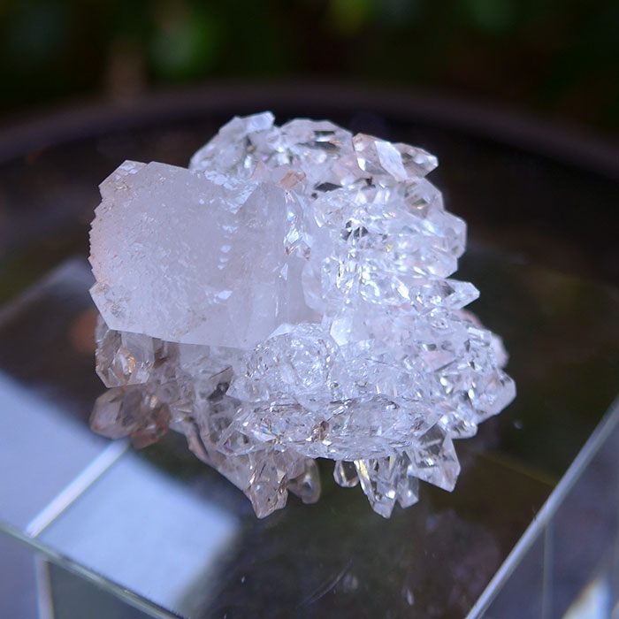 Gem Apophyllite on Matrix