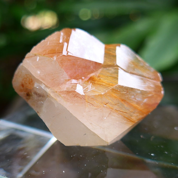 Beautiful Orange Rutile