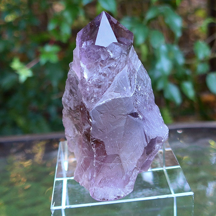 Rainbow Ametrine Fairy Castle