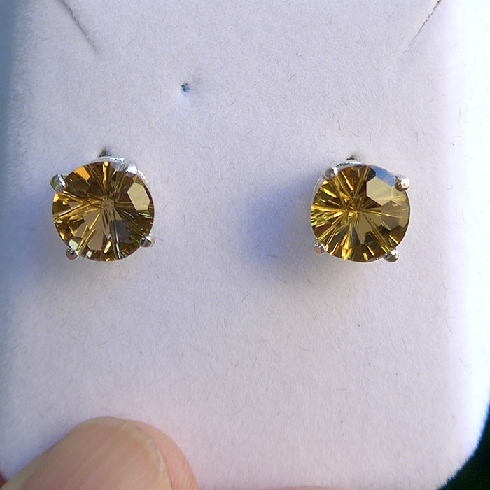 Citrine Super Nova Earrings