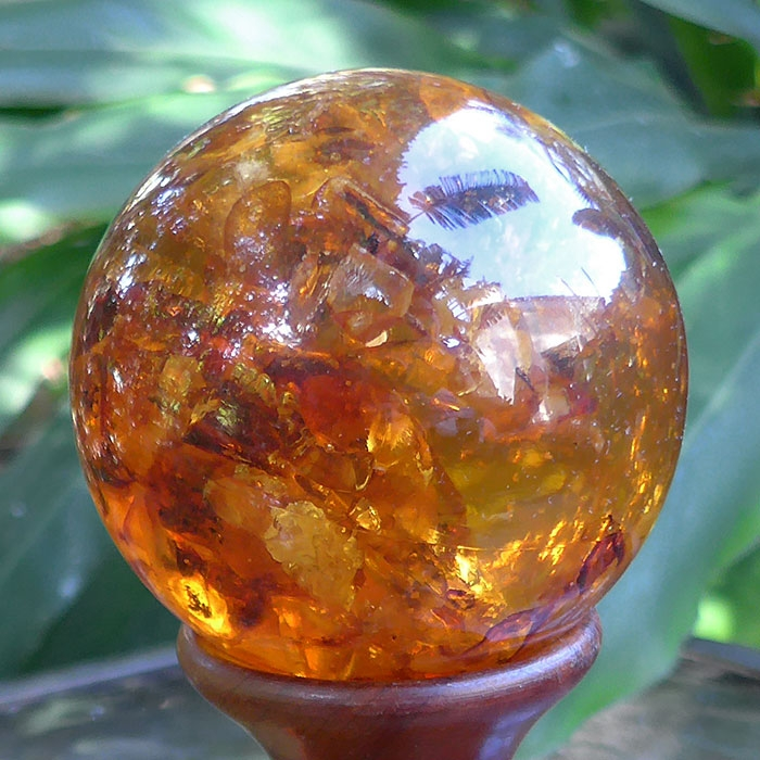 Amber Composite Sphere