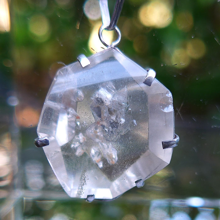 Large Multi-Manifestation Crystal Pendant