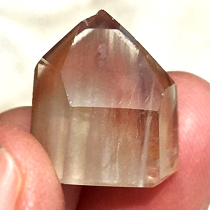 Little Angel Quartz Polished Phantom Point