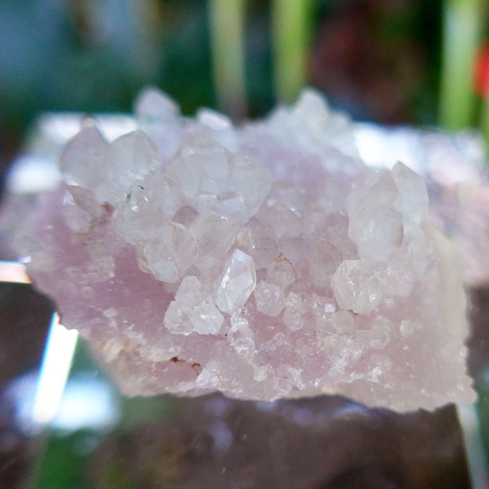 Crystallized Rose Quartz Specimen