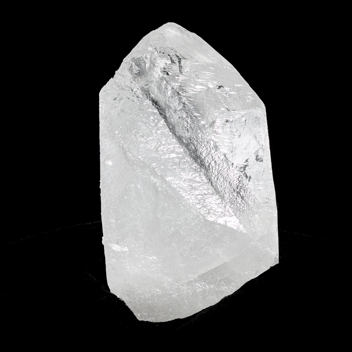 Trigonal King Lemurian Isis Face Reclining Point with Record Keepers and Growth Interference Groove