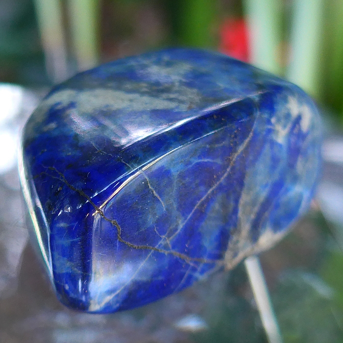 Lovely Polished Lapis Lozenge