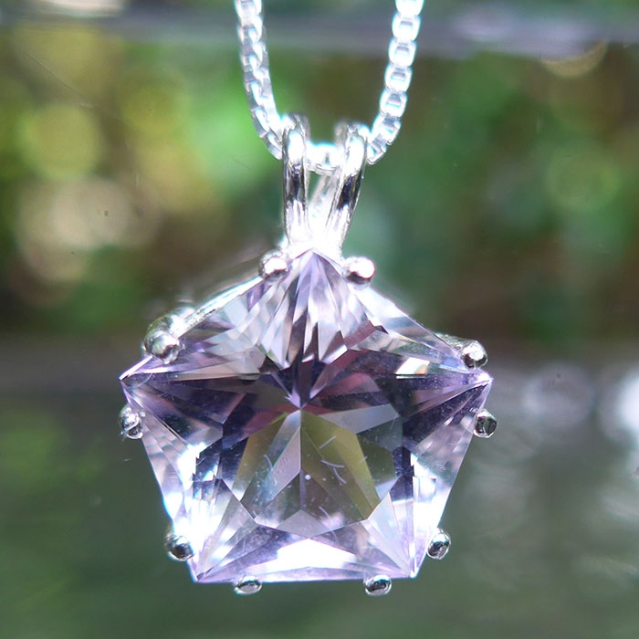 Rose de France Amethyst Star of Venus