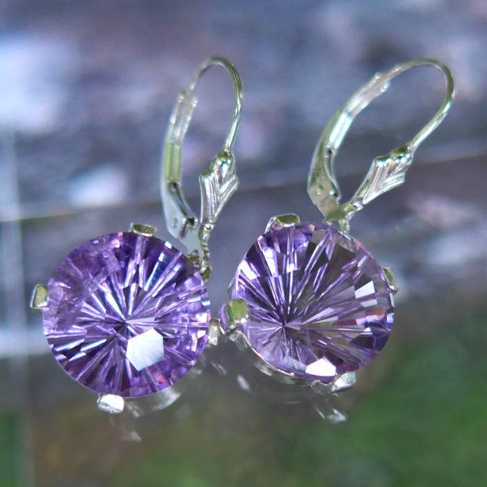 Amethyst Super Nova Earrings