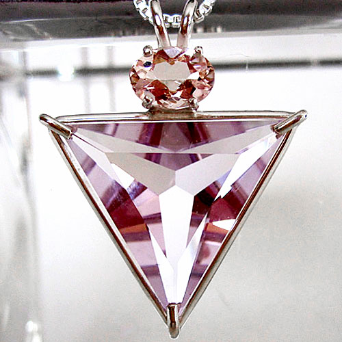 Rose de France Angelic Star with Morganite
